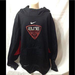 Boy's size Large NIKE Elite Therma-fit hoodie